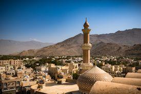 Nizwa Mosque, Nizwa, Oman - February 28, 2016