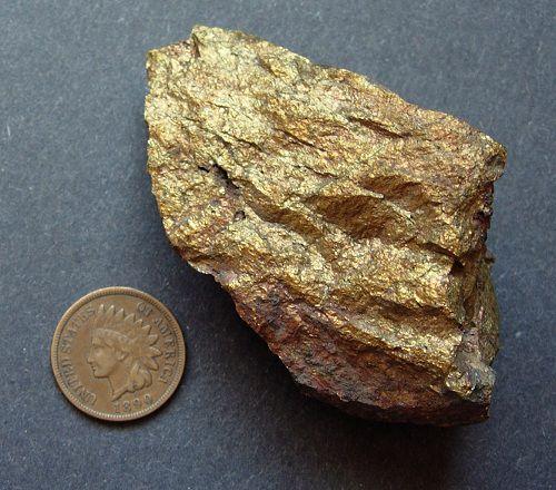 Copper iron sulfide
