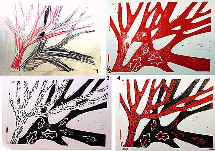 An Introduction Lino Printing