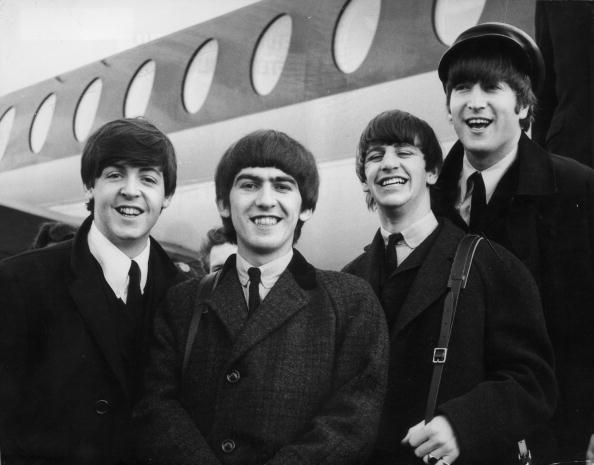 The Beatles, including Paul McCartney, George Harrison, Ringo Starr and John Lennon.