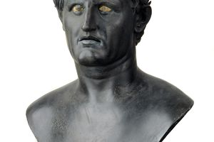 Bronze bust of Seleucus I Nicator