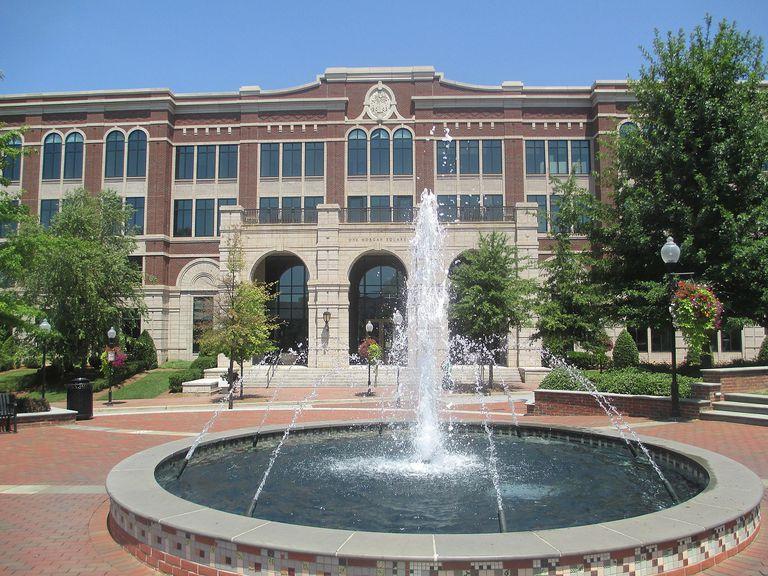 Fountain in Spartanburg, South Carolina.