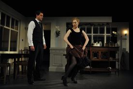 UK - Henrik Ibsen's A Doll's House directed by Carrie Cracknell at the Young Vic in London.