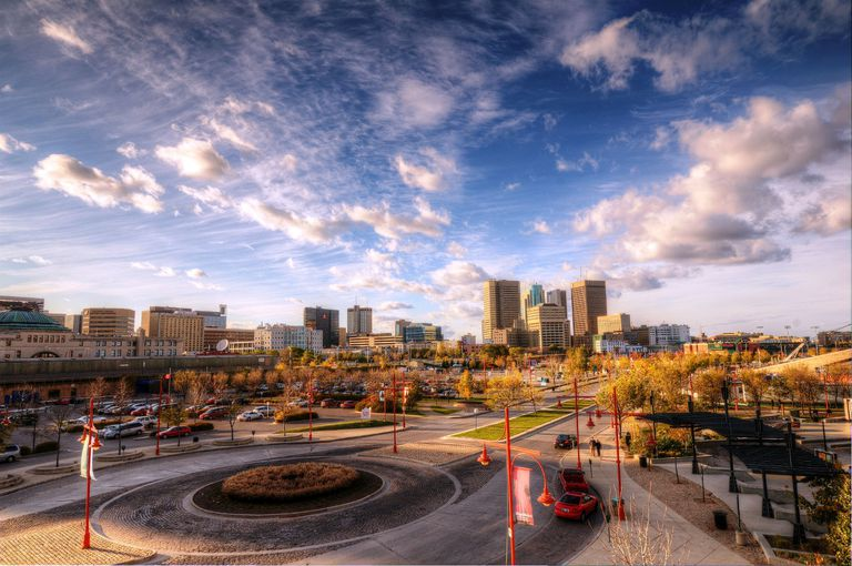 Downtown Winnipeg, View From the Forks