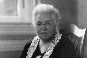 Wellesley College professor Katharine Lee Bates