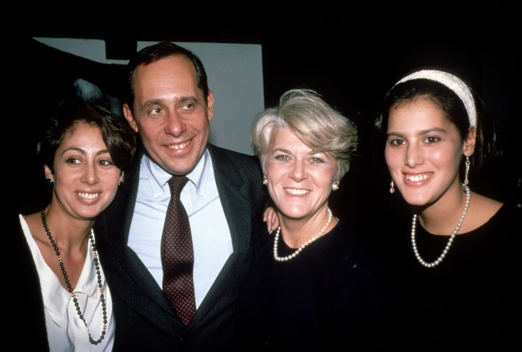 Geraldine Ferraro und Familie