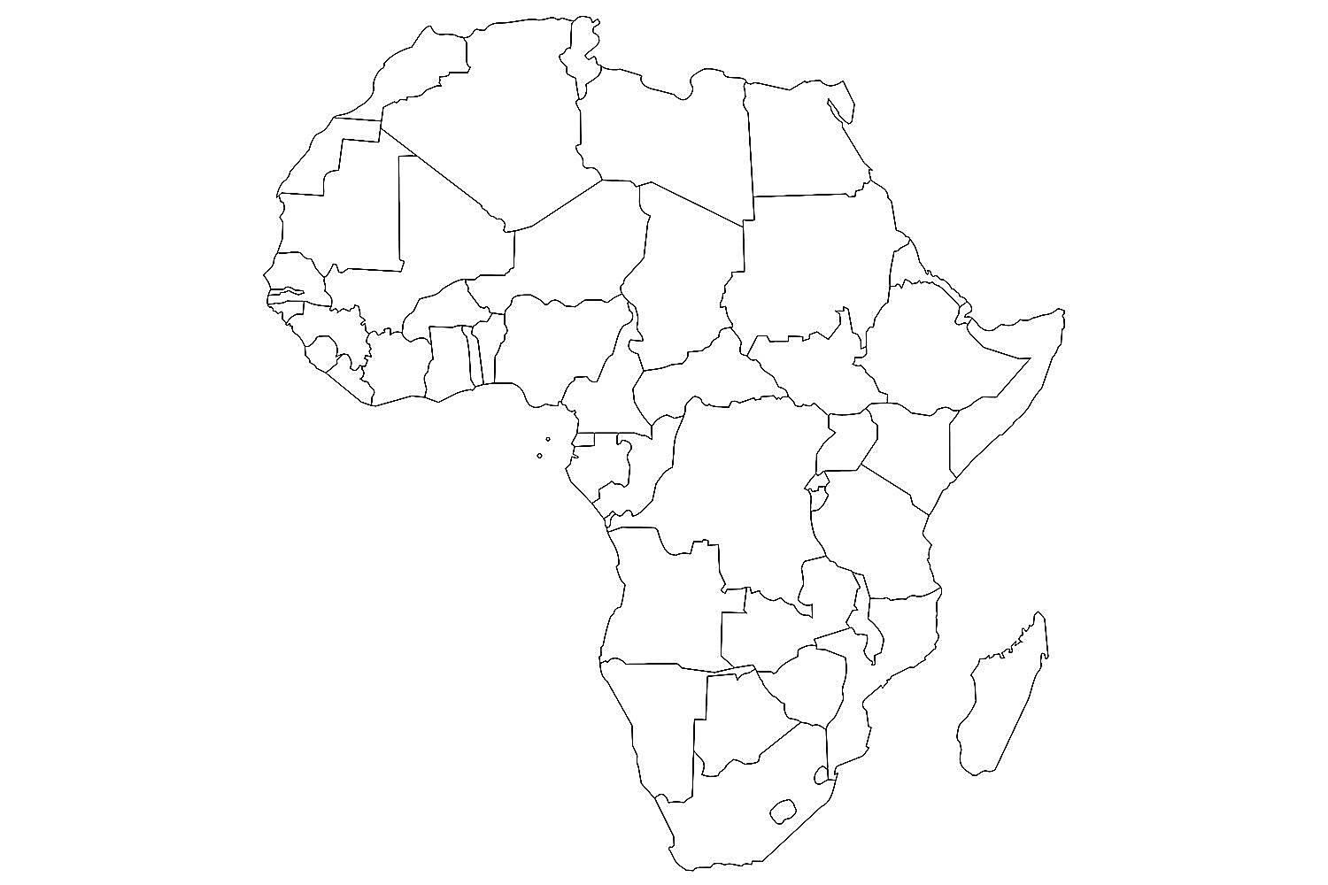 Picture of: Jungle Maps Map Of Africa And United States