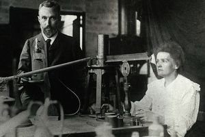 Curium is named for Marie and Pierre Curie.