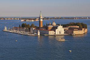 The island of San Giorgio Maggiore, Venice, Italy