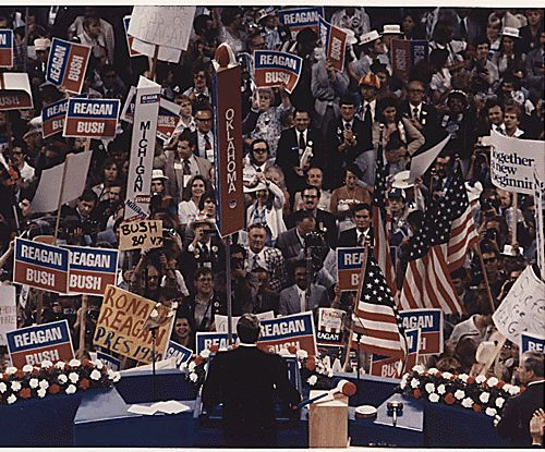 Ronald Reagan Accepts the 1980 Republican Party Presidential Nomination