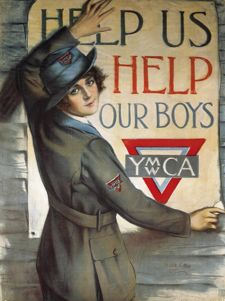 Propaganda poster By Huskell Cottin, World War I