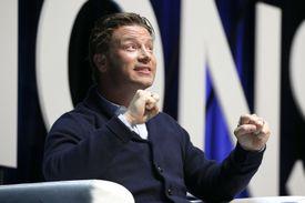 English celebrity chef Jamie Oliver