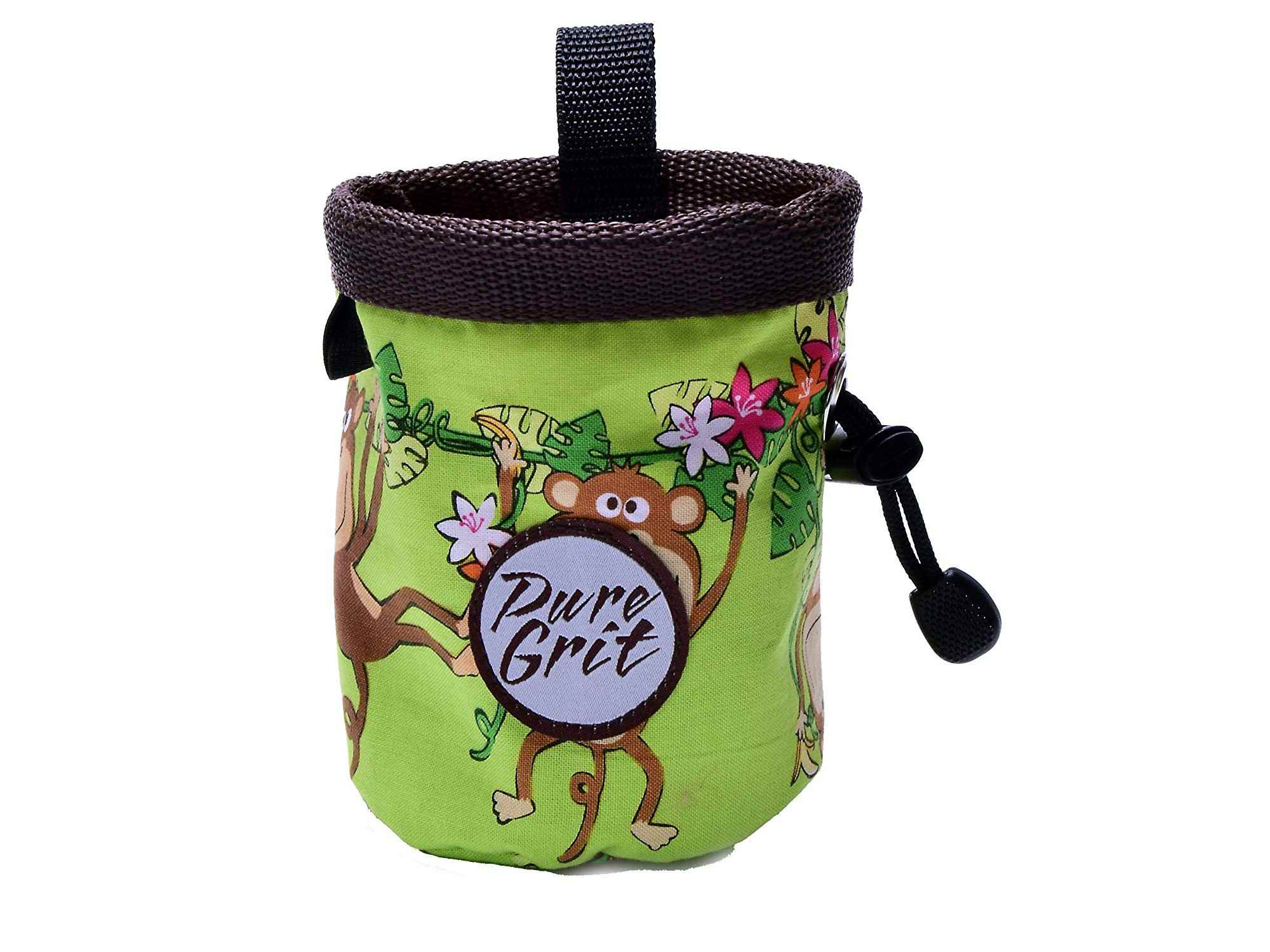 Chalk Bag For 3-8 Year Olds (USA made) by Pure Grit