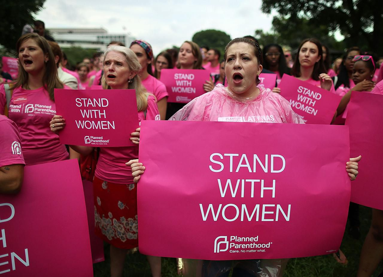 Pro-Choice Supporters Rally In DC Against Restrictive Abortion Laws