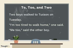 To, too, and two