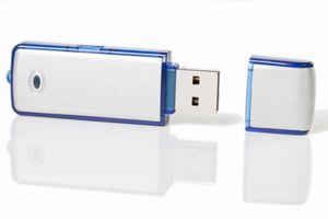 Flash drive, USB drive, or thumb drive