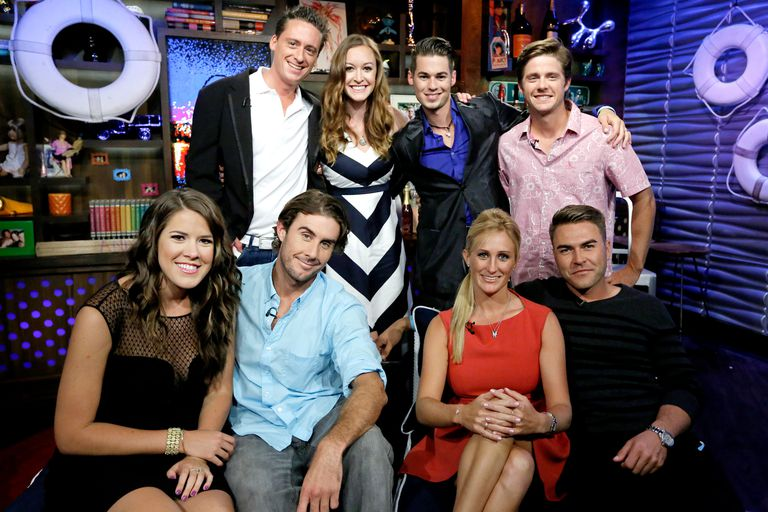 The cast of 'Below Deck' season one.