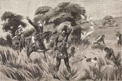 the death of shaka zulu