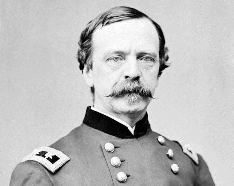 Portrait of Major General Daniel Sickles