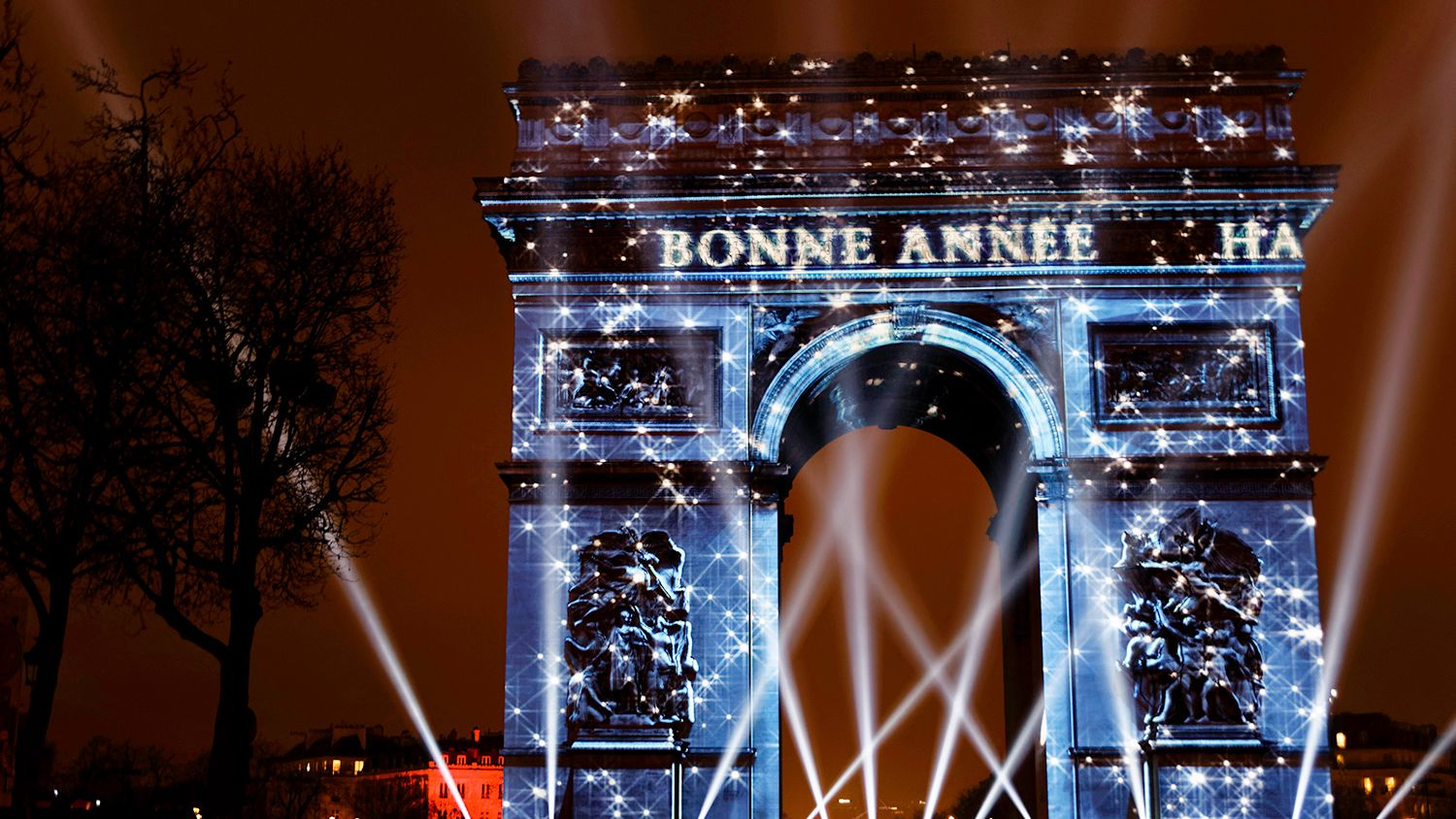 Typical New Year's Greetings in French