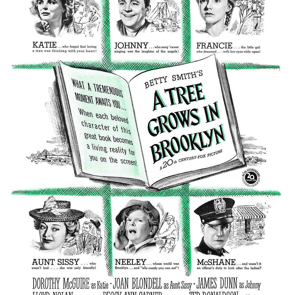 A Tree Grows in Brooklyn Movie Poster