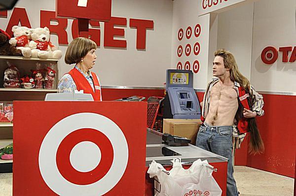 Kristen Wiig as the Target Lady