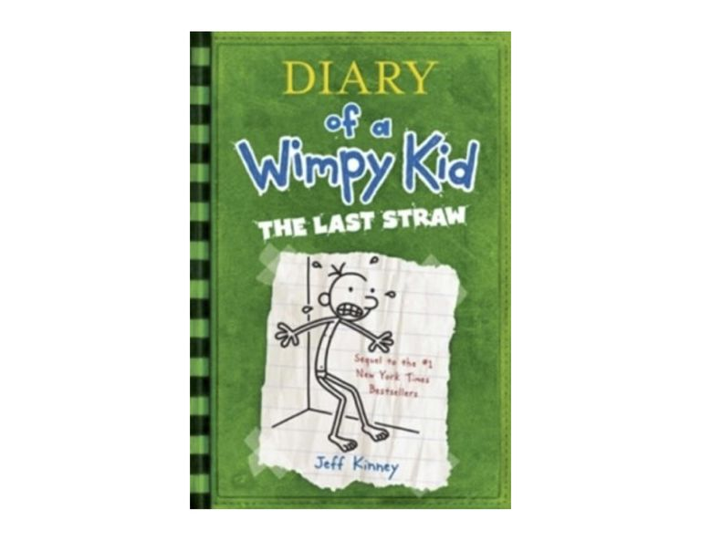 Cover Art of Diary of a Wimpy Kid The Last Straw by Jeff Kinney