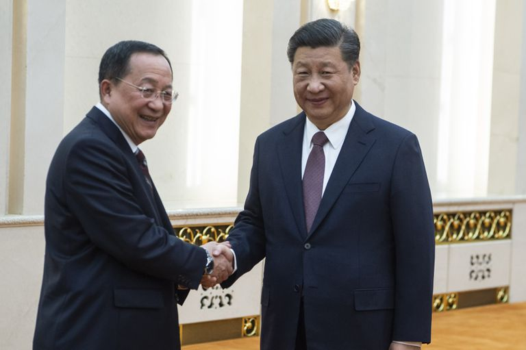 North Korean Foreign Minister Visits China