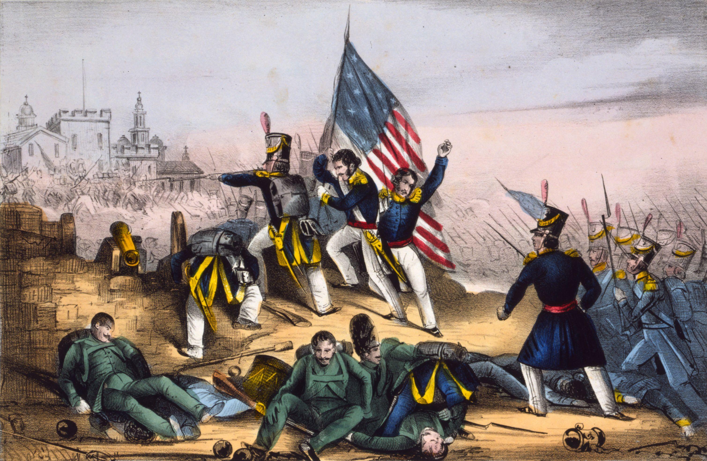 The Battle of Chapultepec