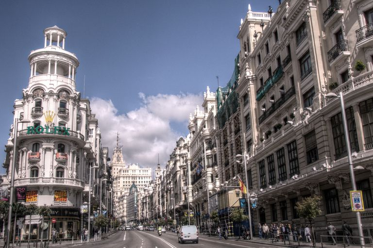 Gran Vía of Madrid