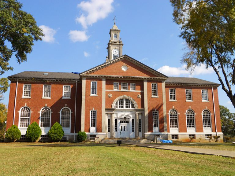 The library at Talladega College