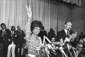 Shirley Chisholm in 1972