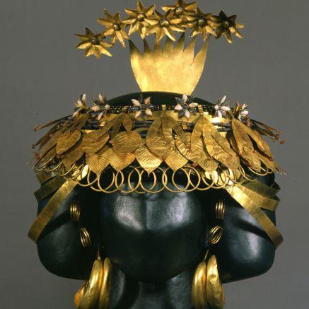 Headdress of Queen Puabi at Ur