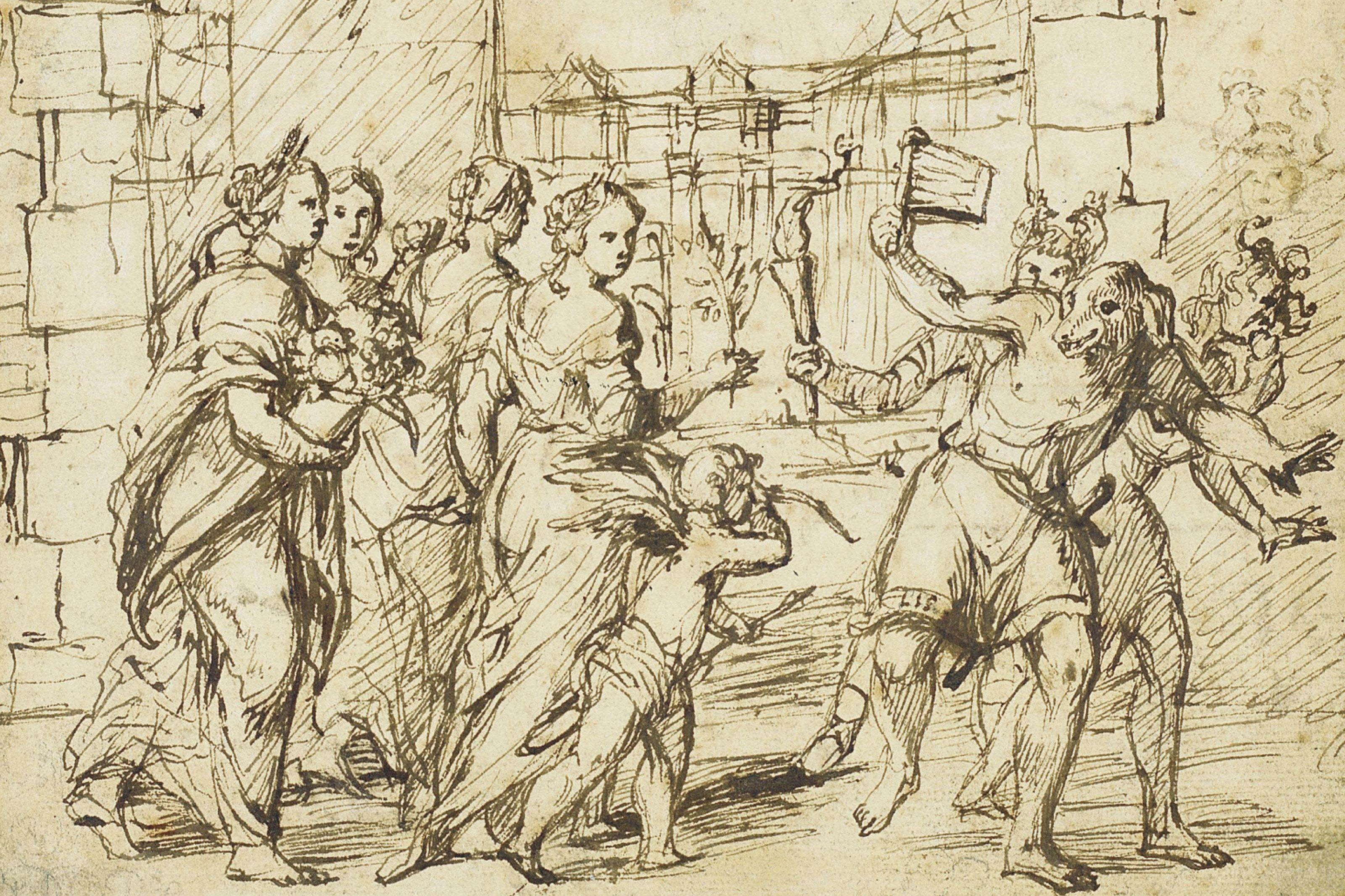 De Oorsprong Van De Romeinse Festival Lupercalia