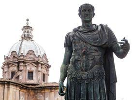 Tricolon example with Julius Caesar