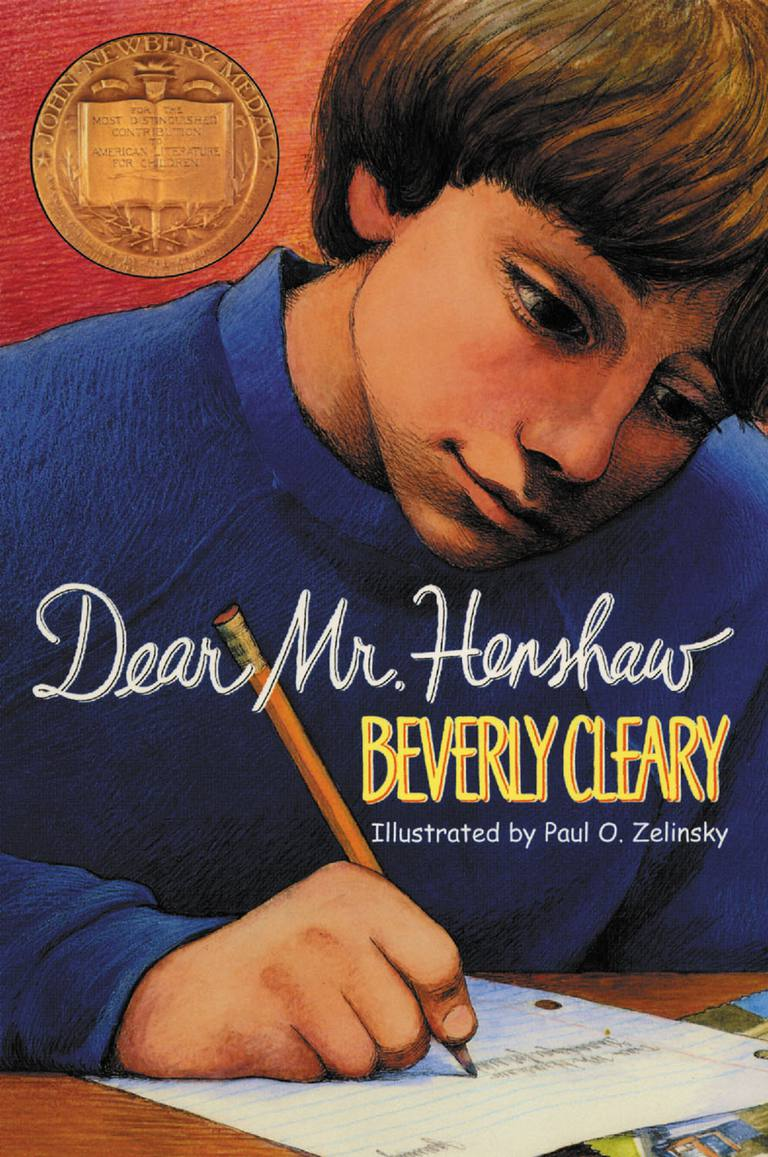 Dear Mr. Henshaw by Beverly Cleary - Book Cover