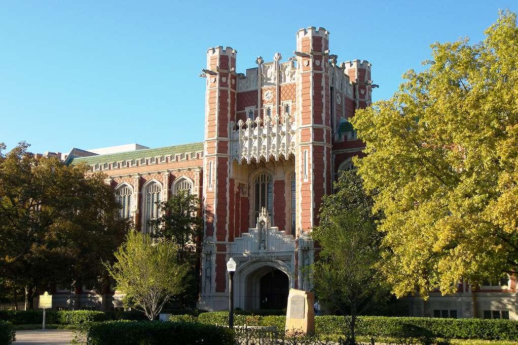 Biblioteca Bizzell de la Universidad de Oklahoma