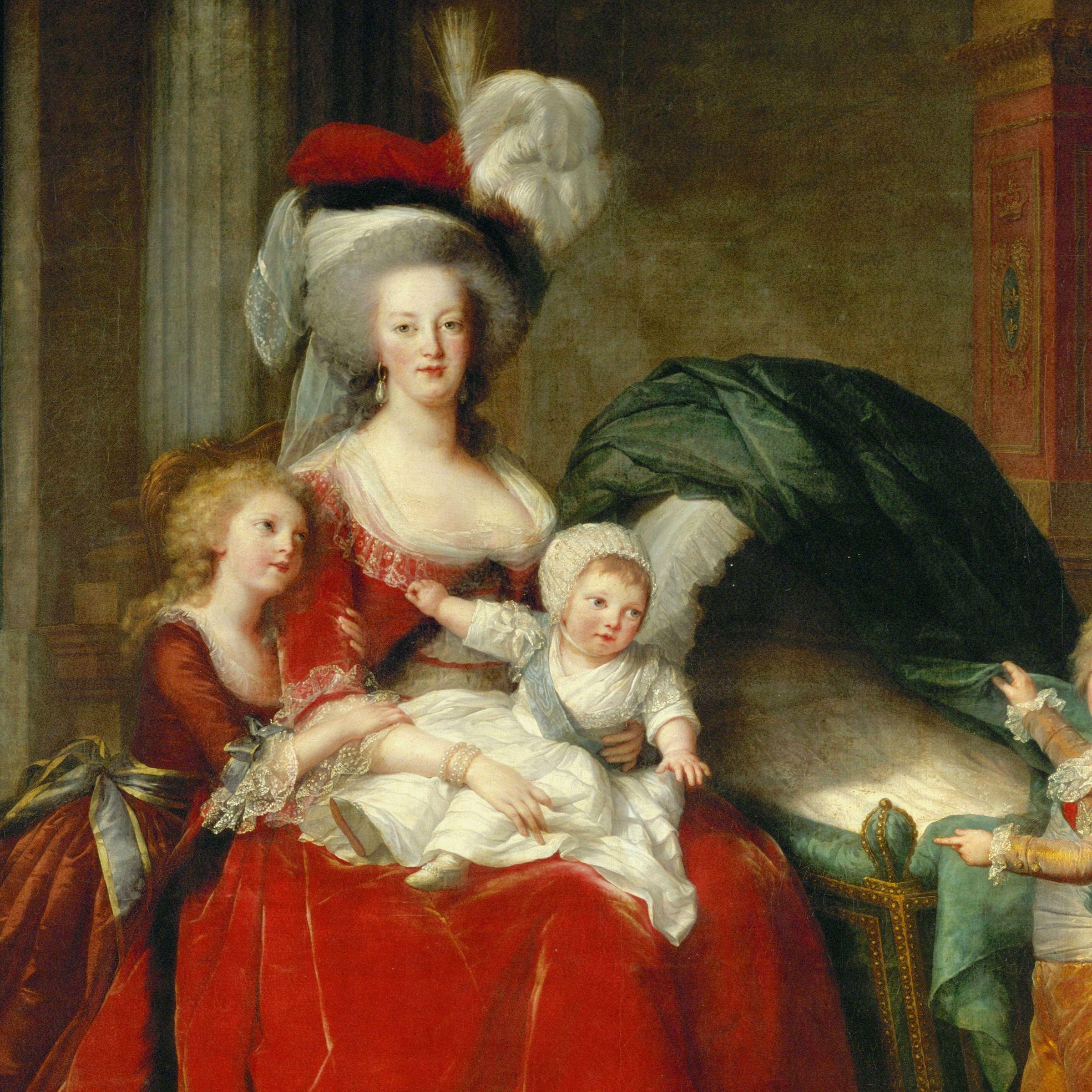 Modern Marie Antoinette Art