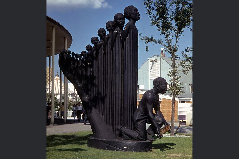 "Augusta Savage Sculpture ""The Harp"""