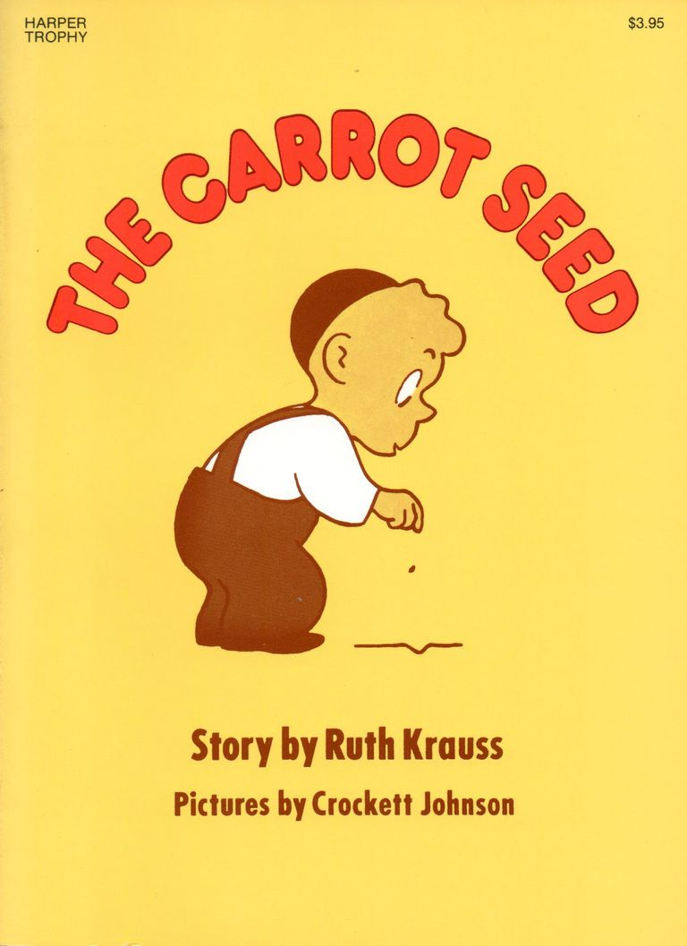 Book cover for The Carrot Seed by Ruth Krauss