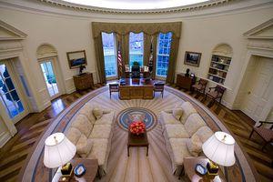 USA - Politics - Oval Office Interior
