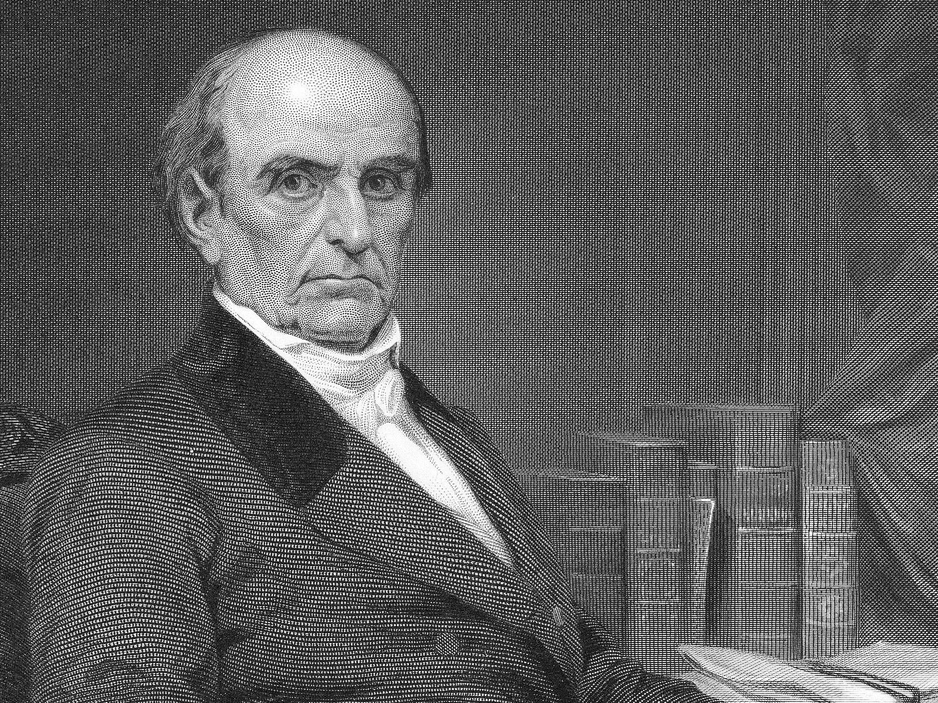 Photo of Alumni of IVY League colleges- Daniel Webster