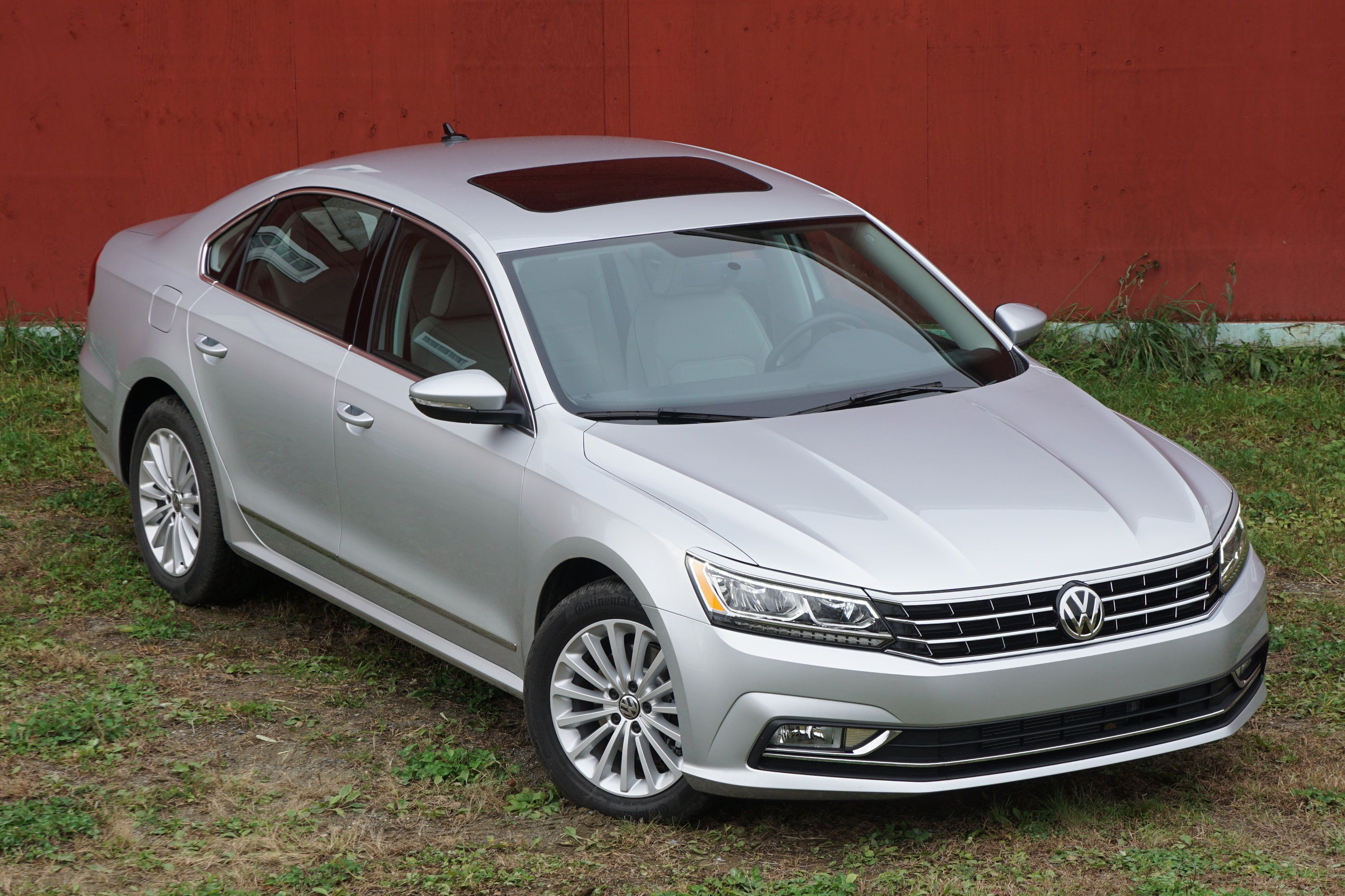 highline volkswagen passat drive test of review expert