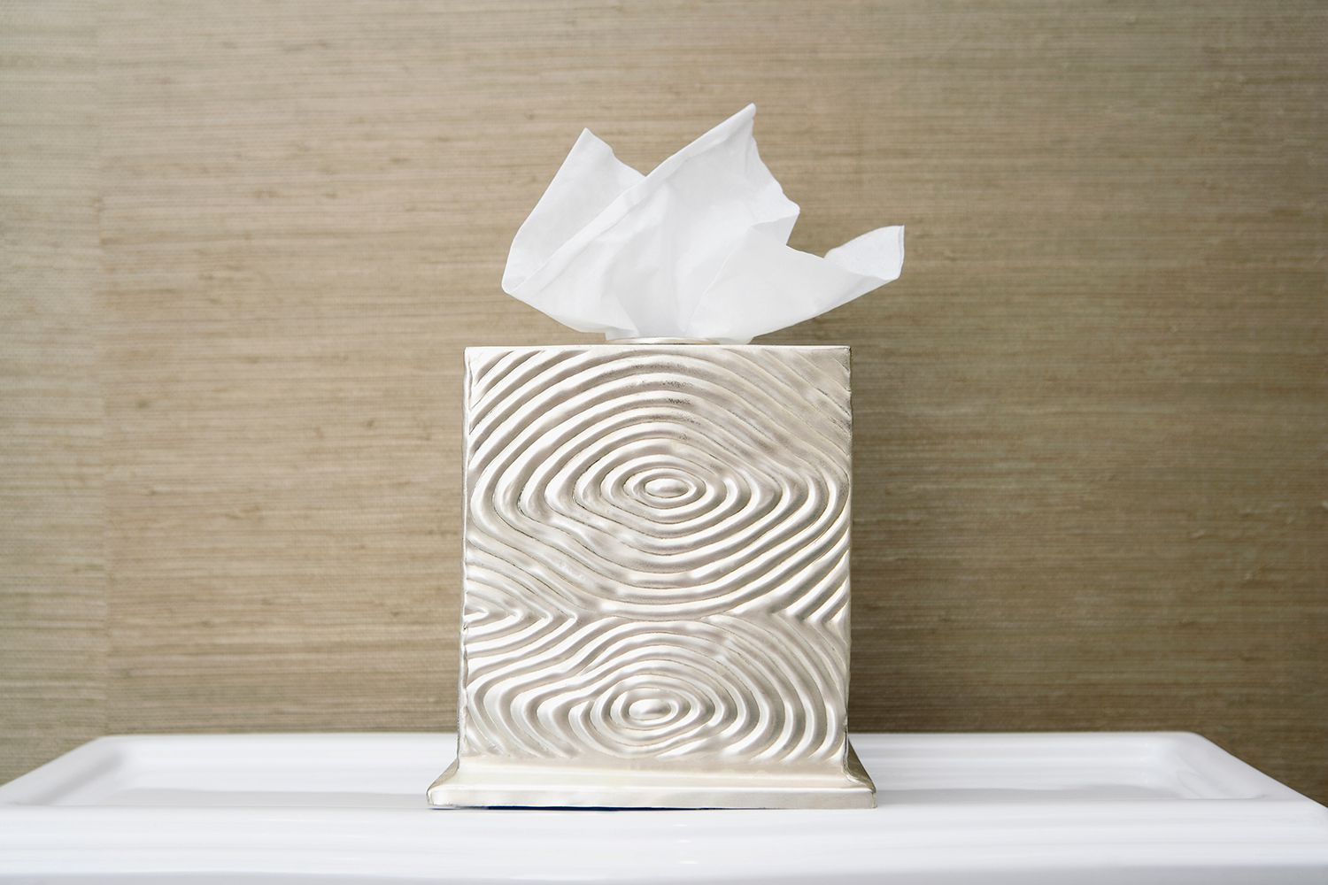 Close-up of a tissue paper in a box