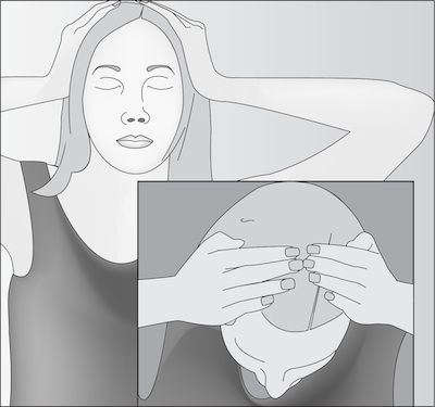 Basic Reiki Hand Placements for Self Treatment