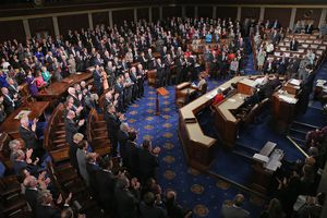 Members of the US House of Representative voting