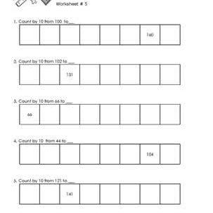 Worksheet # 5