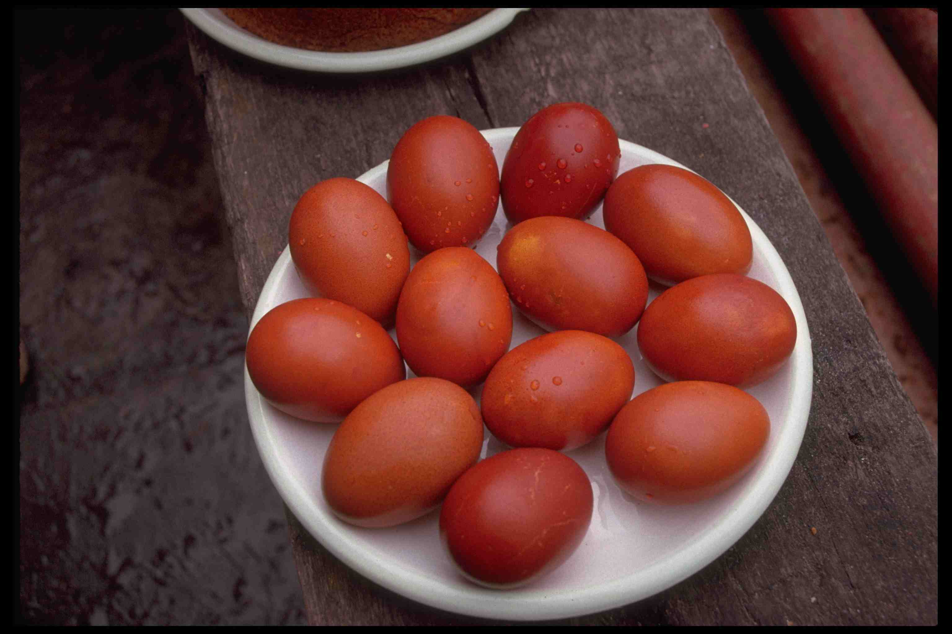 Uova Di Pasqua Rosse