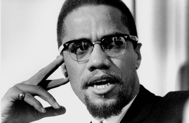 Civil rights activist Malcolm X (born Malcolm Little, also known as El-Hajj Malik El-Shabazz), 1925-1965