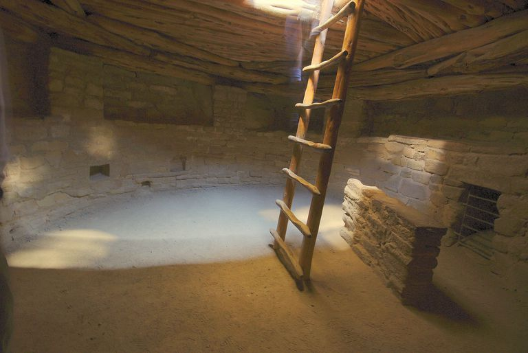 Kiva at Spruce Tree House